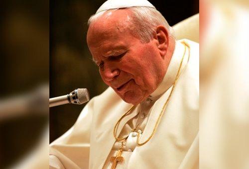 O papa francisco nomeará joão paulo ii como patrono das jornadas mundiais da juventude